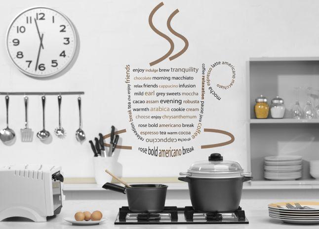 napisy na ścianie, inspiracje, wnętrze, wewnątrz, dekoracje, litery na ścianie, inspirujące hasła, Innowacyjne rozwiązania, Pomysł na..., naklejki na ścianę