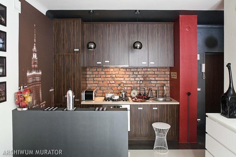 Pomysł na wykończenie ścian w kuchni