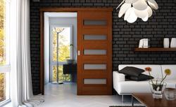 Drzwi przesuwne naścienne i chowane w kasecie. Montaż drzwi i sposoby otwierania