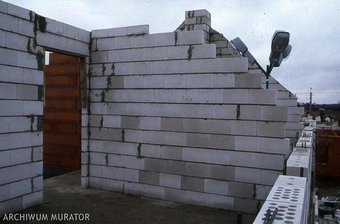 Ściany działowe z bloczków silikatowych