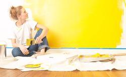 Żółte ściany we wnętrzu. Wybierz właściwy kolor żółtej farby