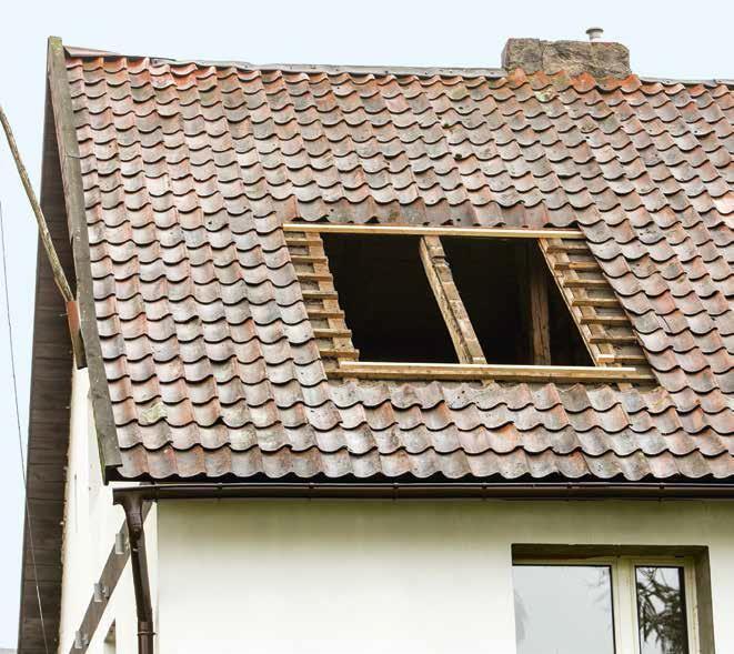 Wstawianie okna dachowego