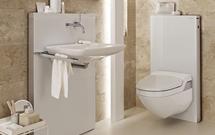 Mała łazienka funkcjonalnie urządzona
