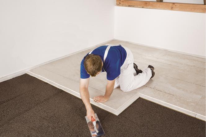 Szybki sposób na podkład podłogowy