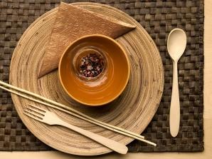 Nakrycie z podkładką bambusową