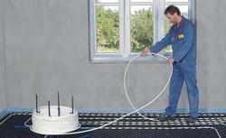 Sterowanie wodnym ogrzewaniem podłogowym