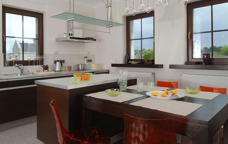 Galeria zdjęć  Jak połączyć kuchnię z salonem kuchnia otwarta i półotwarta   -> Kuchnia Z Pokojem Dziennym Na Poddaszu