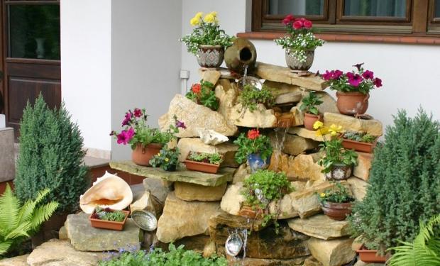 Rośliny doniczkowe jak ogrodowa rzeźba
