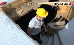 Schody zabiegowe - betonowanie